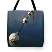 Buoys In Aligtnment Tote Bag