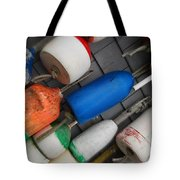 Buoys On A Slant Tote Bag