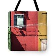 Burano Facade Tote Bag