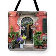 Burano Flower Shop Tote Bag