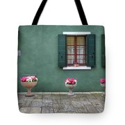 Burano Green Tote Bag