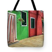 Burano Street Tote Bag