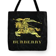Burberry - Black And Gold - Lifestyle And Fashion Tote Bag