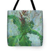 Burdock Leaves  Tote Bag