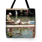 Burgazada Island Fisherman Tote Bag