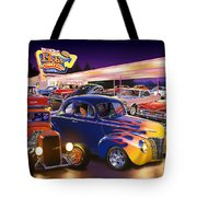 Burger Bobs Tote Bag