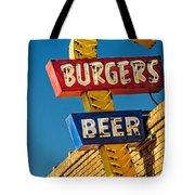 Burgers And Beer Tote Bag