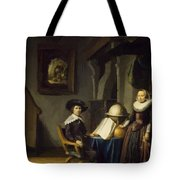 Burgomaster Hasselaar And His Wife Tote Bag