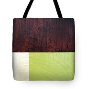 Burgundy Cream Pickle Tote Bag by Michelle Calkins