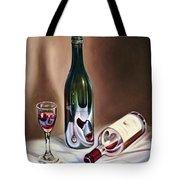 Burgundy Still Tote Bag