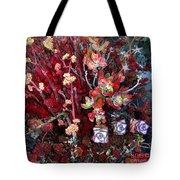 Burgundy Succulents. Multi Color Beauty Tote Bag
