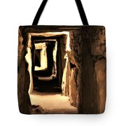 Burial Tomb Tote Bag