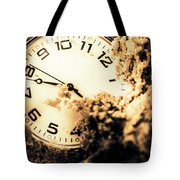 Buried By The Hands Of Time Tote Bag