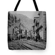 Burke Idaho Ghost Town In Its Prime Tote Bag