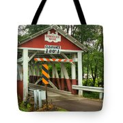 Burkholder Covered Bridge Tote Bag