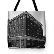 Burlington North Carolina - Main Street Bw Tote Bag