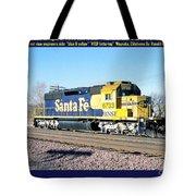 Burlington Northern Santa Fe Bnsf Tote Bag
