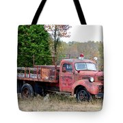 Burned Out Tote Bag