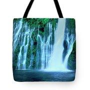 Burney Falls Mcarthur Burney State Park California Tote Bag
