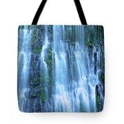 Burney Falls Mist Mcarthur Burney Sp California  Tote Bag