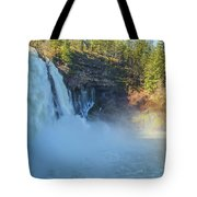 Burney Falls Wide View Tote Bag