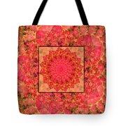 Burning Bush Floral Design  Tote Bag