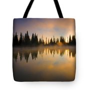 Burning Dawn Tote Bag