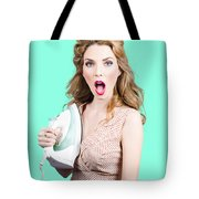 Burning Hot Fashion Tote Bag