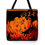 Burning Kiss Of Fire Tote Bag