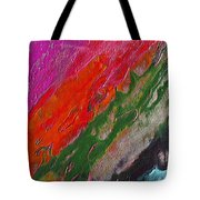 Burning Lava Tote Bag