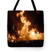 Burning Water Tote Bag
