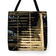 Burnt  Tote Bag