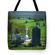 Burren Crosses County Clare Ireland Tote Bag