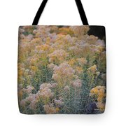 Burro Bush Tote Bag