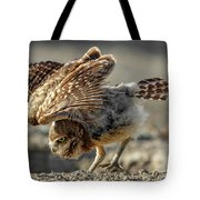 Burrowing Owlet Workout Tote Bag
