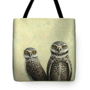 Burrowing Owls Tote Bag