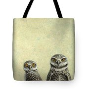 Burrowing Owls Tote Bag by James W Johnson