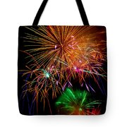 Burst Of Bright Colors Tote Bag