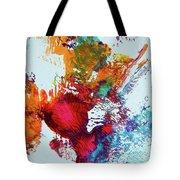 Burst Of Consciousness Tote Bag