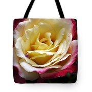 Burst Of Rose Tote Bag