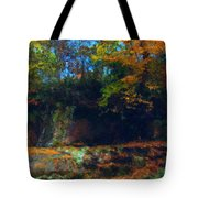 Bursting Autumn Cheer Tote Bag