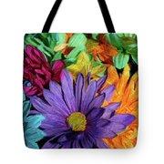 Bursting Colors Tote Bag
