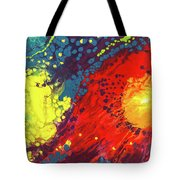 Bursting Recognition Tote Bag