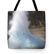 Bursting Water Bubble At Onset Tote Bag