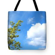 Bursting With New Life Tote Bag