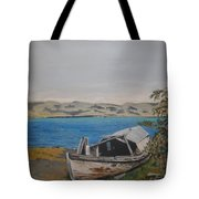 Burwash Landing Yukon Tote Bag