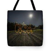 Bus Of Light Tote Bag