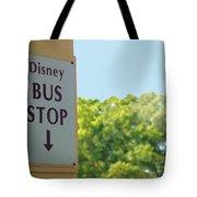 Bus Stop Tote Bag