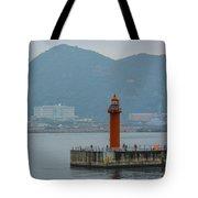 Busan Lighthouse Tote Bag