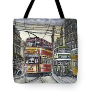 Buses Trams Trolleys Tote Bag